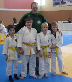 Trainer Malte Ringel mit der U11